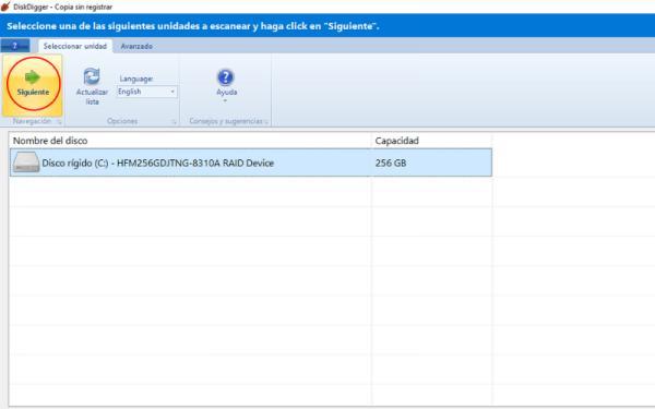 Cómo recuperar fotos con DiskDigger - ¿Cómo usar el programa DiskDigger?