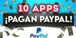 Aplicaciones para ganar dinero PayPal