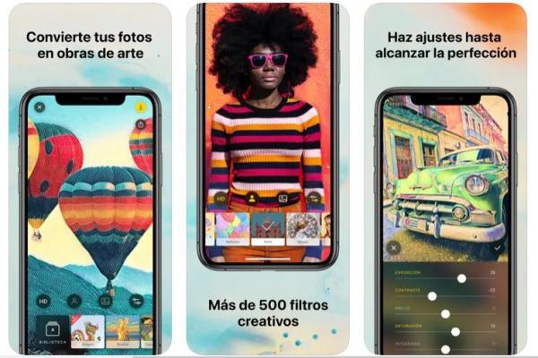 Los mejores editores de fotos para iPhone - Prisma