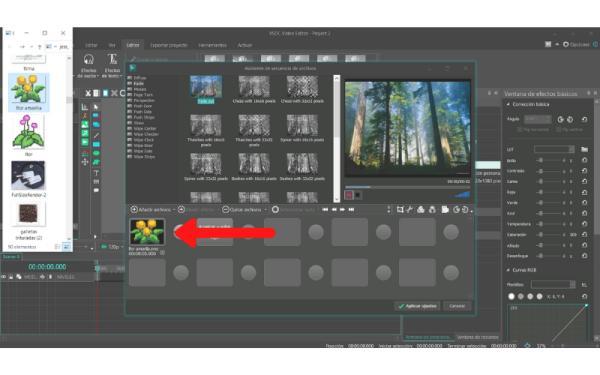 Cómo hacer un video con música y fotos en el ordenador - Crea un nuevo proyecto