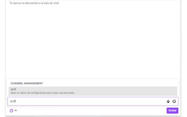 Cómo hacer encuestas en Twitch - Cómo crear una encuesta en Twitch