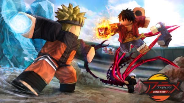 Los mejores juegos de Roblox - Anime Fighting Simulator