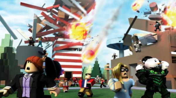 Los mejores juegos de Roblox - Natural Disaster Survival