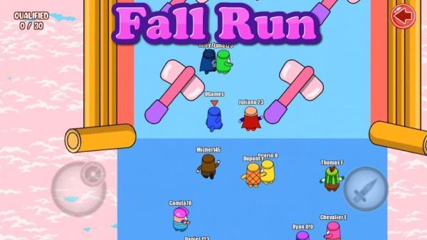 Los 10 mejores juegos multijugador cooperativo para Android - Fall Run: Online Races