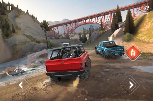 Los 10 mejores juegos multijugador cooperativo para Android - Rebel Racing