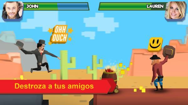 Juegos de PlayStore divertidos - Fling Fighters