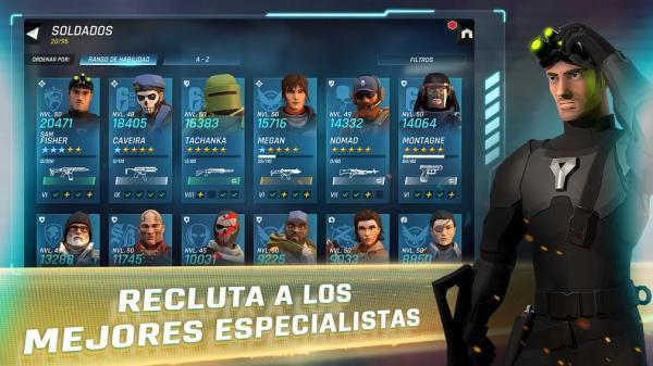 Juegos de PlayStore divertidos - Tom Clancy's Elite Squad – RPG militar