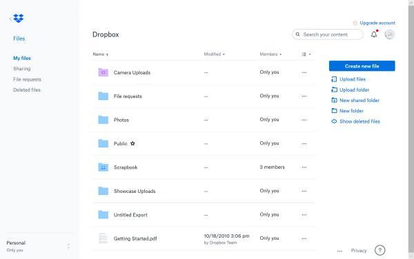 Cómo enviar archivos grandes gratis - Dropbox