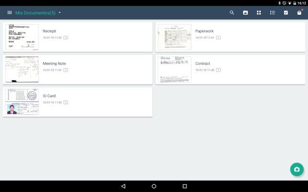 Cómo escanear un documento con el celular - Camscanner