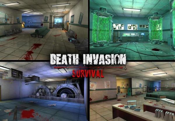 Juegos de supervivencia para Android e iOS - Death Invasion