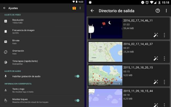 Apps para grabar pantalla en Android - AZ Screen Recorder