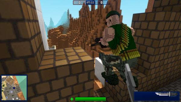 Juegos parecidos a Minecraft - Block Storm