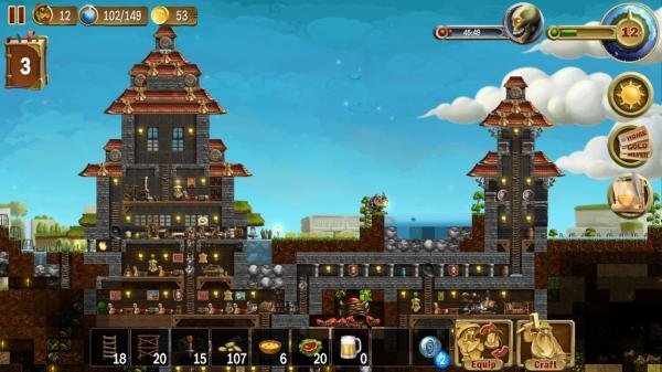 Juegos parecidos a Minecraft - Craft The World