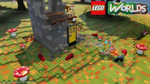 Juegos parecidos a Minecraft - Lego Worlds