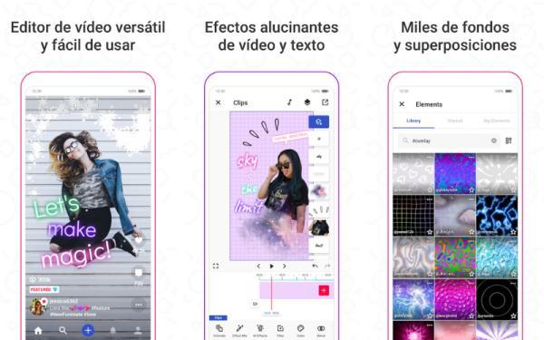 Editores de vídeo para Android - Funimate