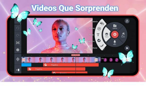 Editores de vídeo para Android - KineMaster