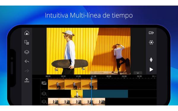 Editores de vídeo para Android - PowerDirector