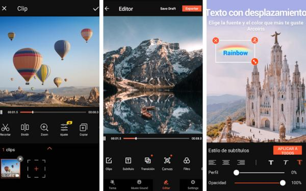Editores de vídeo para Android - VideoShow