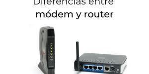 Diferencia entre módem y router