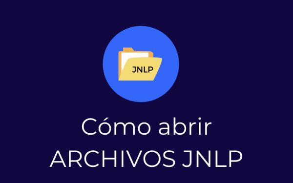 Cómo abrir un archivo JNLP