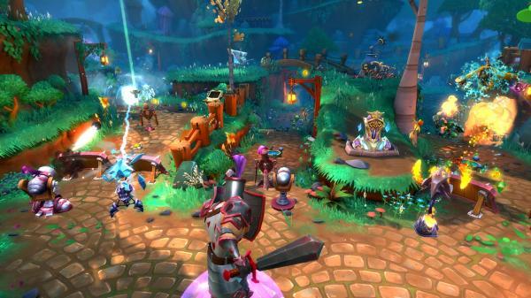 39 juegos gratis de PS4 (Sin PS Plus) - Dungeon Defenders II