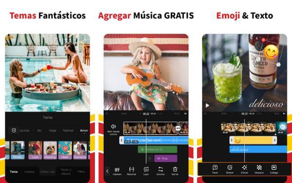 Aplicaciones para editar videos gratis - VivaVideo
