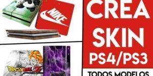 Cómo crear skins y pegatinas personalizadas para PS4 y PS3